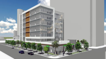 Blackhawk Properties & Investments' new 70,000 s.f. office building, 550 South Andrews, is set to break ground Summer 2016